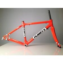 Planet X Pro Carbon Road Frameset / Small / Seville Orange / Cosmetic Damage