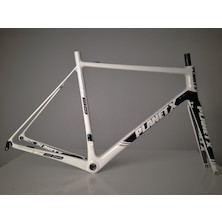 Planet X RT-80 Carbon Road Frameset / X Large / White/Black/Grey / Used
