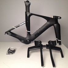 Planet X Exo3 Carbon TT Frameset / Large / Dark Knight