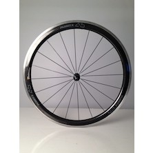 Planet X CT45 Carbon Clincher Front Wheel / 700c / Stealth Logo / Used