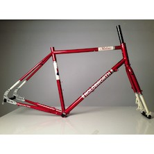 Holdsworth Stelvio Touring/Adventure Disc Frameset / Large (54cm) / Cherry Red / Cosmetic Damage