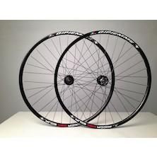 Gipiemme Roccia Equipe 700c/29 Inch Disc Wheelset / Black / Shimano/SRAM 10/11sp / Used - Cosemtic Damage