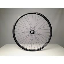 Gipiemme Pista Fixed 700c Clincher Rear Wheel / Black (Cosmetic Damage)