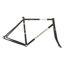 Holdsworth La Quelda Steel Single Speed Frameset / Large / Classic Black / Cosmetic Damage