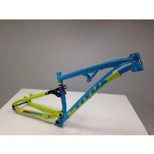 Titus El Viajero Gravity-Trail 27.5 Frame / Small / Azzuro Tech Green / Used Heavy Marking