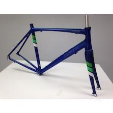 Planet X RT-58 V2 Alloy Road Frameset / Midnight Blue / Large / Paint Chips