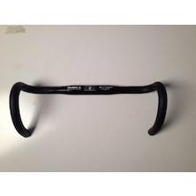 Planet X Road Bar Strada Shallow Drop / 40cm / Polished Black / 31.8 Mm Clamp / Used