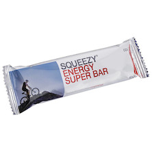 Squeezy Sports Nutrition Energy Super Bar 50g Box of 20