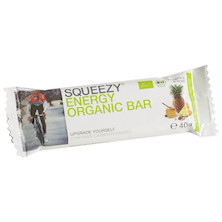 Squeezy Sports Nutrition Organic Energy Bar 40g Box of 25