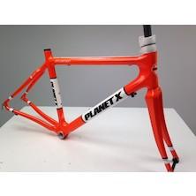 Planet X Pro Carbon Road Frameset / Medium / Seville Orange / Cosmetic Damage