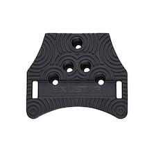 Exustar E-SL02 KEO/Delta Clipless Pedal Adapter (Converts KEO/Delta To Toe Clips)