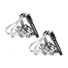 TK457TM Alloy Road Pedal With Toe Clip
