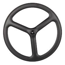 Planet X Time Trial / Triathlon Tri Spoke Carbon Aero Front Wheel