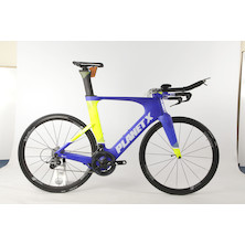 Planet X Exo3 Time Trial Bike SRAM Force 11 Vision 35 / X Large / Team Carnac