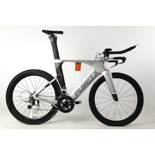 Planet X Exo3 Time Trial Bike SRAM Force 11 Planet 6060 Tubular Edition / Large / Silver Shadow