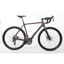 Viner Strada Bianca Shimano Ultegra 6800 Gravel Adventure Bike / Large / Anthracite & Red