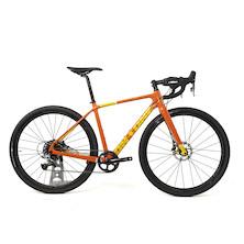 On One Bish Bash Bosh SRAM Rival 1 HRD Adventure  Gravel Bike / X Small / Seville Orange