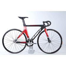 Planet X Pro Carbon Track Sport Bike Xsmall Gloss Red / Matt Black