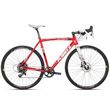 Planet X XLA SRAM Apex 1 Hydraulic Disc Cyclocross Bike Medium Fire Red