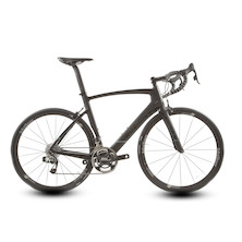 Planet X EC-130E SRAM Red Etap 11 Aero Road Bike Large Dark Knight