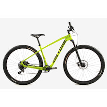 On One Maccatuskil SRAM NX1 Mountain Bike / Medium / Lemon And Lime