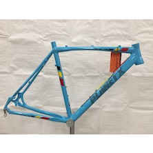 Planet X XLA Alloy Cyclocross Frame / Medium / Belgium Blue / Paint Chips Around Seattube