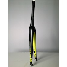 Viner Maxima RS 4.0 Carbon Road Fork / Carbon And Neon Yellow / Used - Cosmetic Damage