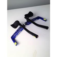 Selcof Ultra Chrono Carbon TT Handlebar / 42cm / Team Carnac / 31.8mm / Used - Cosmetic Damage