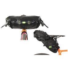 PODSACS Large Saddlebag And Handlebar Bag Bundle