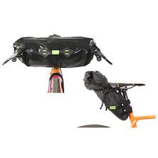 PODSACS Small Saddlebag And Handlebar Bag Bundle