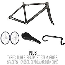 Planet X Pro Carbon Rolling Chassis Frame Bundle