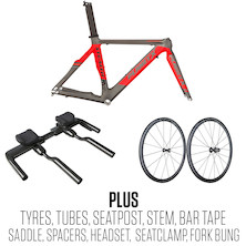 Planet X Stealth Rolling Chassis Frame Bundle