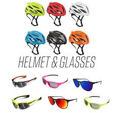 Summer Helmet And Sunglasses Bundle