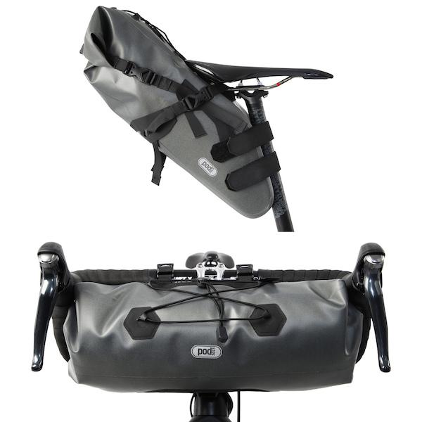 PODSACS Expedition Handlebar And Saddle Bags Bundle