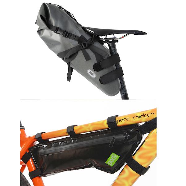 PODSACS Frame And Saddle Bag Bundle