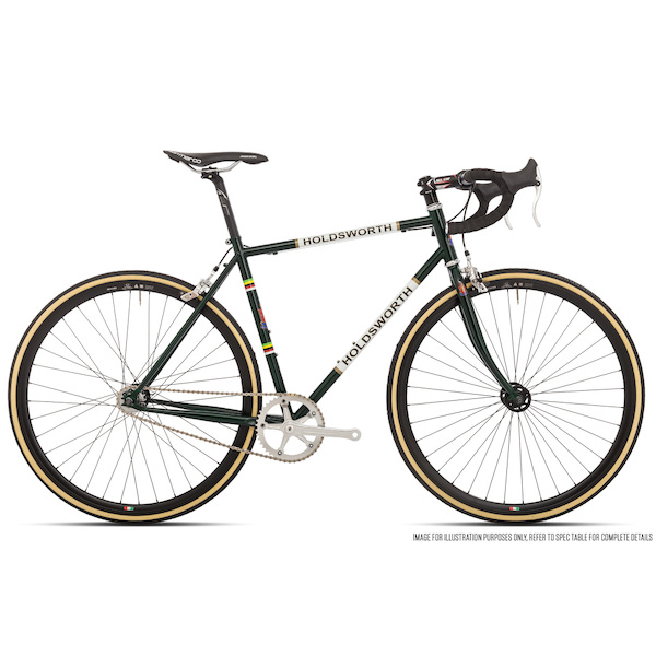 Holdsworth La Quelda Steel Single Speed Drop Bar Mens
