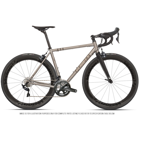 Planet X Spitfire Shimano Ultegra R8000 Vision Metron 55 Titanium Road Bike Fully Loaded Edition