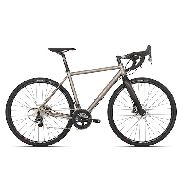 Planet X Tempest Titanium Sram Force 22 Mechanical Disc Gravel Road Bike