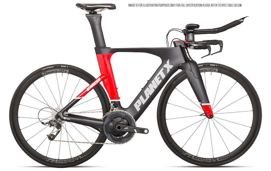 Cycling Laws Uk >> Planet X Exo3 Time Trial Bike SRAM Force 11 Vision 35 | Planet X