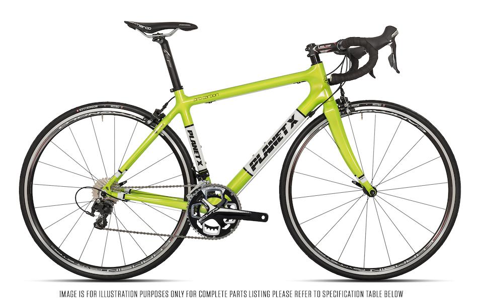 Planet X Pro Carbon Shimano 105 5800 Mix Road Bike