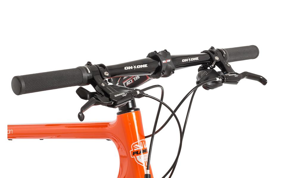 Planet X Pro Carbon Flat Bar Road Bike Sram Rival 11speed Planet X