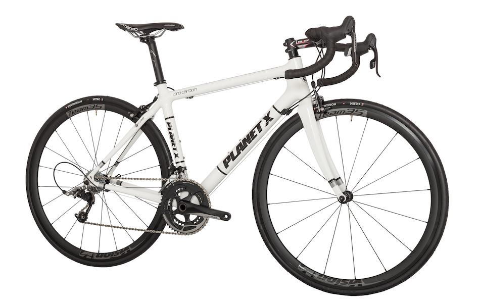 Planet X Pro Carbon Sram Rival 11 Road Bike Planet X