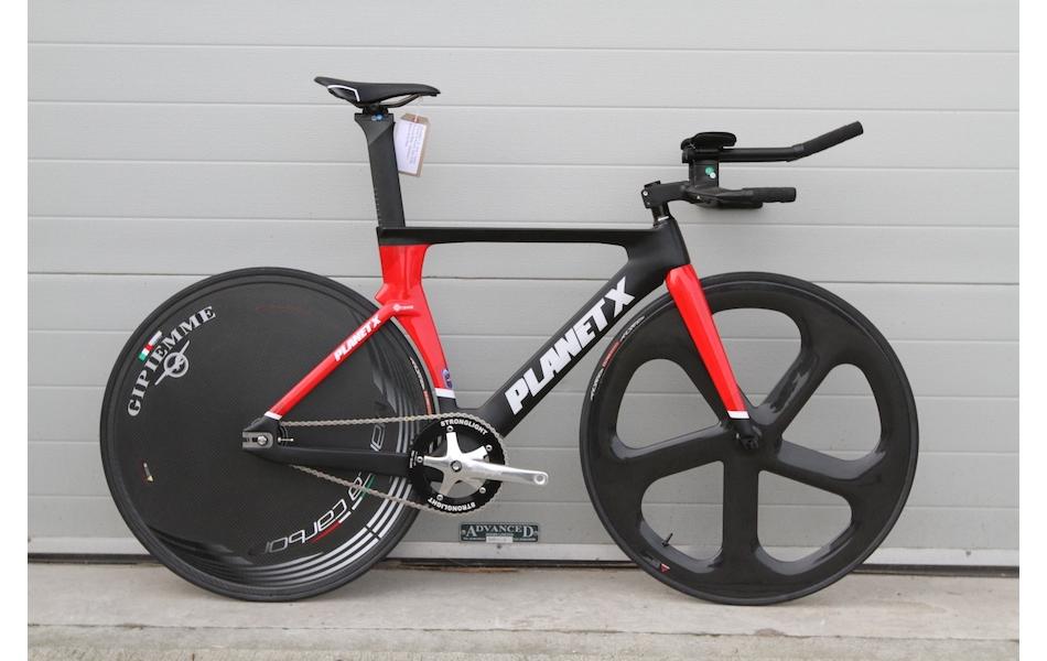 Planet X Koichi San Elite Pursuit Bike / Medium / Black And Red