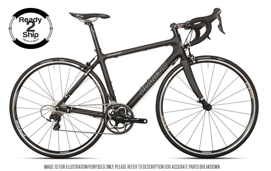 Planet X Pro Carbon Shimano Ultegra 6800 Mix Road Bike